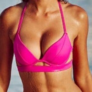 Victoria's Secret Double Band Hottie Halter Bikini